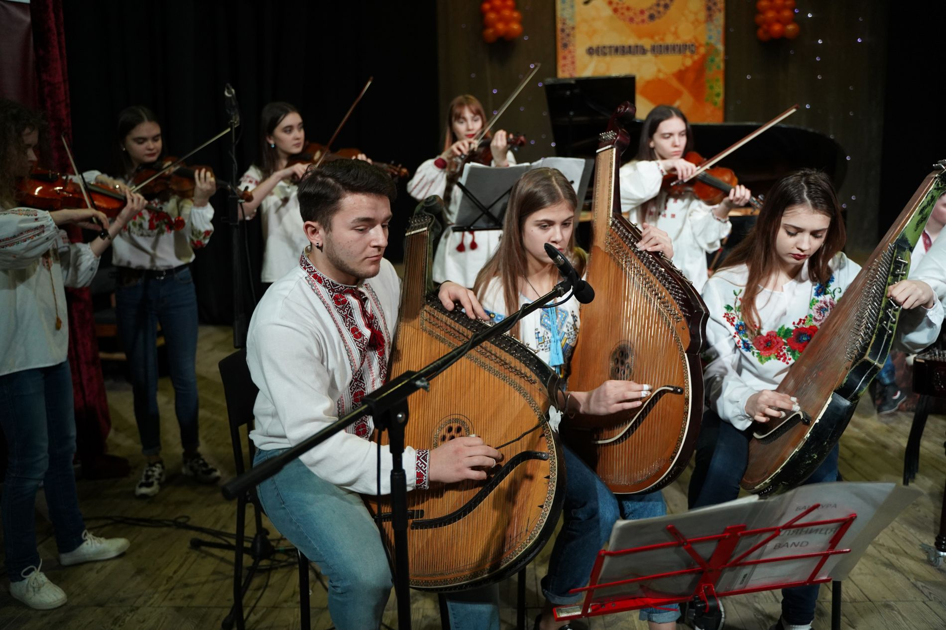 IX All-Ukrainian contest of vocal, choral singing and instrumental music