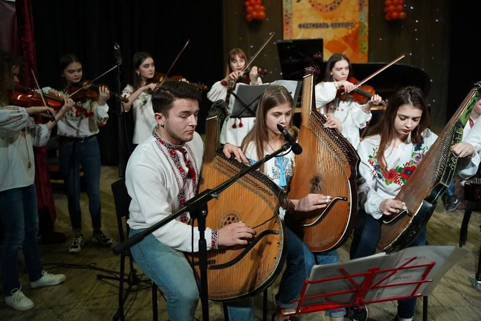 VIII All-Ukrainian contest of vocal, choral singing and instrumental music