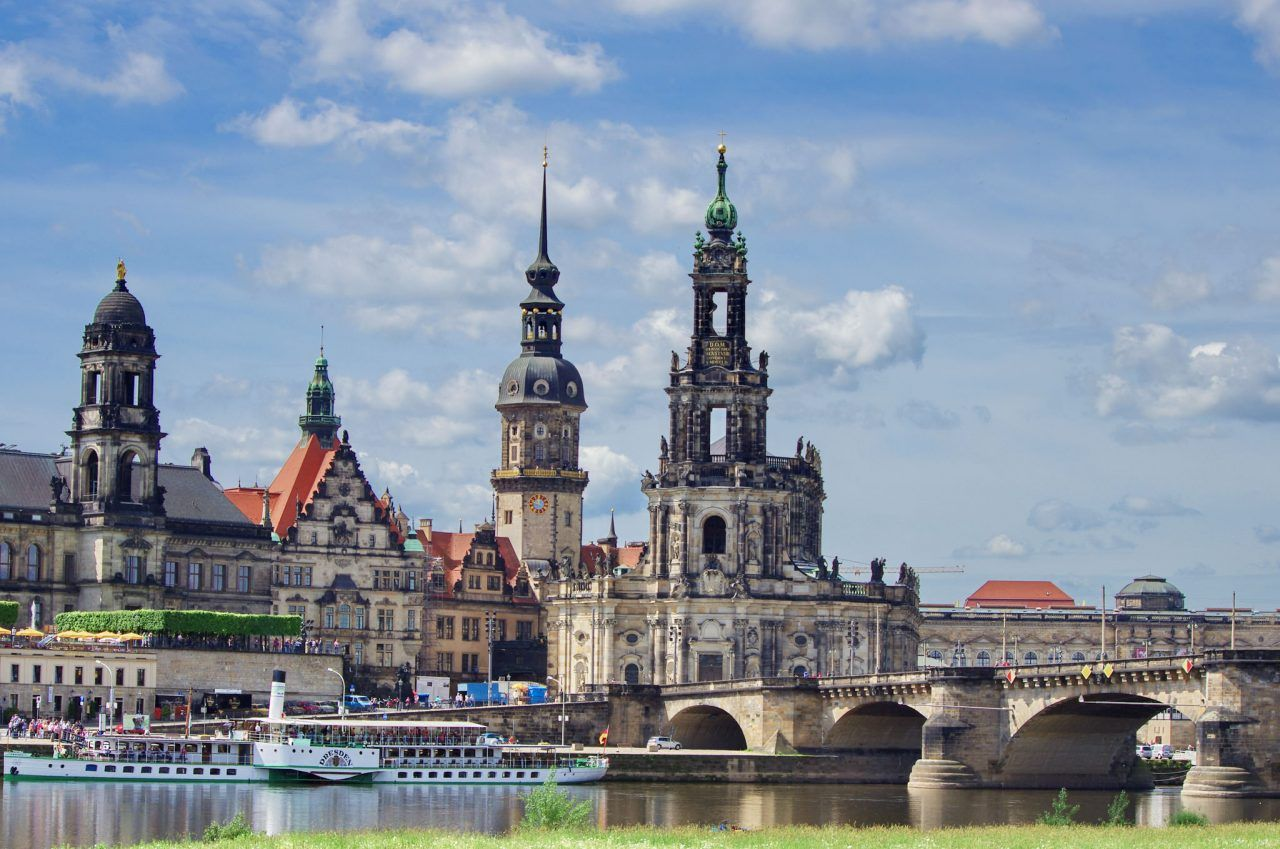 Visiting of Dresden